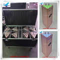 (8pcs/CASE)led battery dmx wifi 6x15w batery powered spot lights disco phone control rgbaw uv led par light