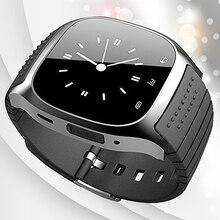 Bluetooth Elegante Reloj de pulsera Teléfono Mate para iOS Android iPhone Samsung HTC