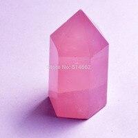 Feng Shui Natural Rose Quartz Polished Point Healing SKU W1302