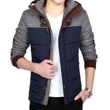 Männer winterjacke männer warmen dicken beiläufige mit kapuze mäntel windbreaker parka herren mäntel und jacken jaqueta masculina plus größe 5XL
