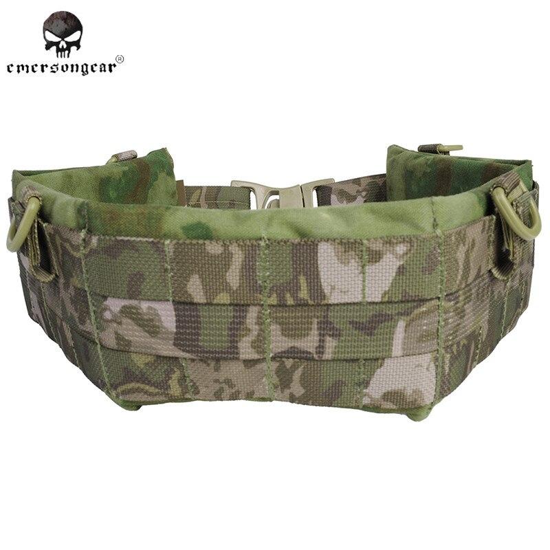 ФОТО Emerson Active Designer Belts Men NYLON MOLLE Padded Patrol Belt Airsoft Combat Military Army Tactical Belt Waist Support EM9154