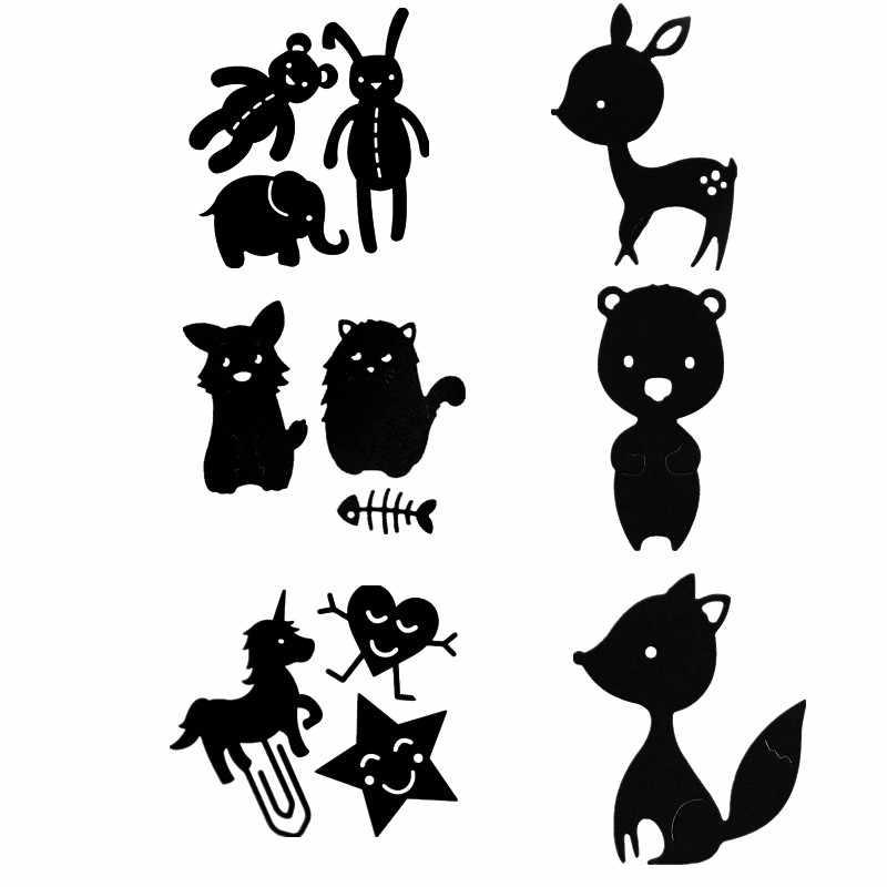 Oyuncak ayı tavşan fil kedi Sika geyik sincap Metal kesme ölür DIY Scrapbooking kabartma kağıt kartları el sanatları yeni 2019