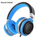 Sound Intone C9s Over-ear Wired Headphones Stereo Super Bass Headset with Mic and Volume Control for iPhone Android Computer MP3