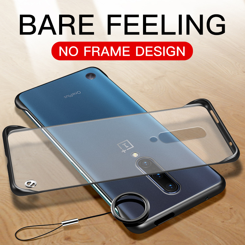 Slim-Cases Key-Ring Oneplus Frameless Transparent-Cover Luxury Matte for 7-pro/One-plus/Oneplus7/..