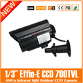 Ccd 700tvl Cctv Câmera Da Bala À Prova D' Água 48 pcs Infrared Night Vision Home Video Segurança Vigilância Freeshipping Venda Quente