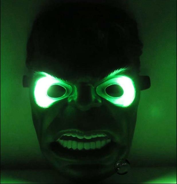 Supply luminous toy ball mask Green giant masks