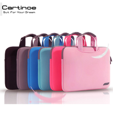 Cartinoe Brand Laptop Bag 15.6 14 13 12 11.6 inch Laptop Bag Computer Sleeve Case for Macbook Pro 13 15 Case Notebook bags