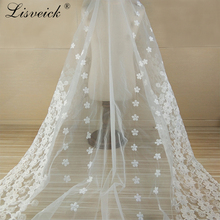 1y  White Water soluble cotton thread embroidery milk silk organza tulle lace fabric DIY wedding dress skirt Clothes accessories