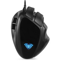 New 7 Buttons Mechanical Mouse USB Wired Competitive Gaming Mouse S10 Gaming Macroprogramming USB Wired 4000DPI for Overwatch
