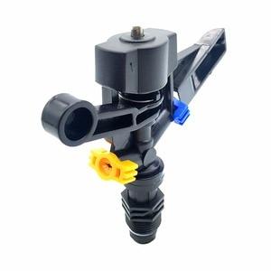 Image 3 - 10 adet otomatik döndürme kol meme 20mm erkek konu iki delik ayarlanabilir olmayan tarım sulama bahçe çim fıskiyesi su sis