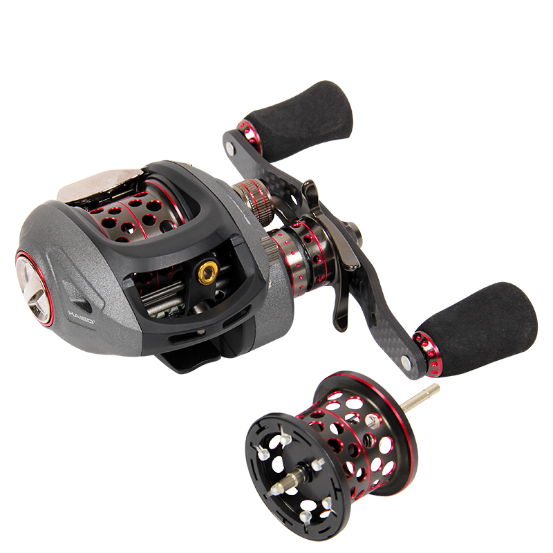 Haibo SMART 50 51HMCS Baitcasting Fishing Reel Water Drop Deel Wheel 12 1BB 7 2 1