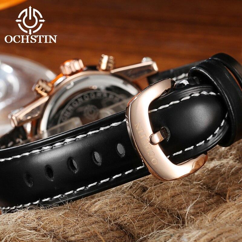 Marca de lujo superior OCHSTIN Hombres Relojes deportivos Horas de - Relojes para hombres - foto 6