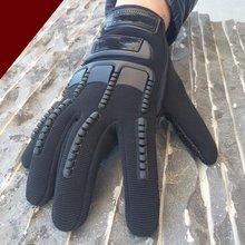 Tactical seals tactical completo dedo guantes al aire libre guantes resistentes a los Cortes antideslizantes