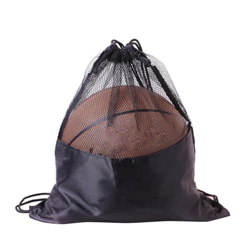 Basketball  Football Volleyball  Waterproof Dust Bag Double Shoulder Basketball Bag Drawstring Waterproof Basketball Bag