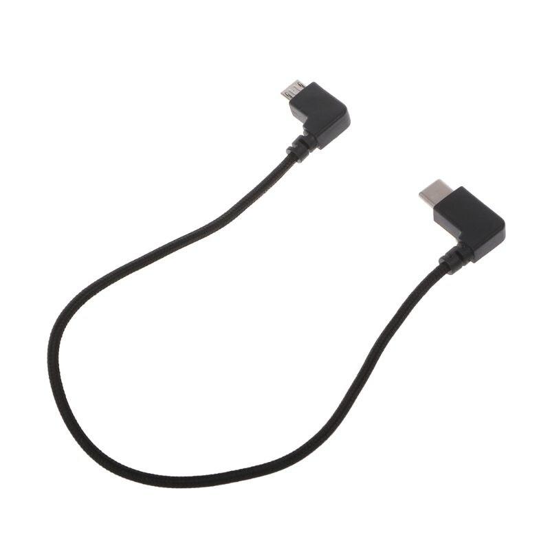 Кабель для передачи данных с дистанционным управлением, линейный провод для мобильного телефона, планшет MicroUSB - Цвет: Type-C