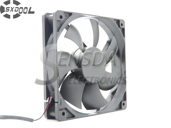 SXDOOL high quality axial DC fan 120x120x25 Cooler Cooling Fan 120*120*25 Genuine Power 12025 24V Radiator Fan cooling fan 220v 120mm aa1252mb at adda 120 120 25mm 12025 12cm ac fan axial fan outlet