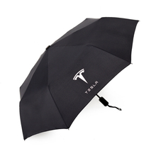 Automatic Men & Women Sun Rain Umbrella For Tesla MODEL 3 S X