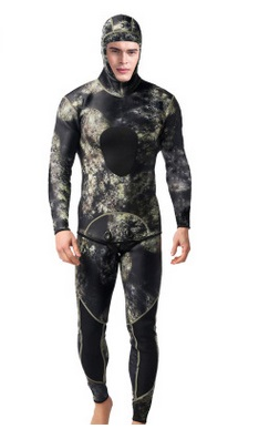 3MM Neoprene Spearfishing Surfing Jumpsuit Equipment Men Professional Two Piece Wetsuit Diving Suit Split Scuba Snorkel Swimsuit sbart camo spearfishing wetsuit 3mm neoprene camouflage wetsuit professional diving suit men wet suits surfing wetsuits o1018
