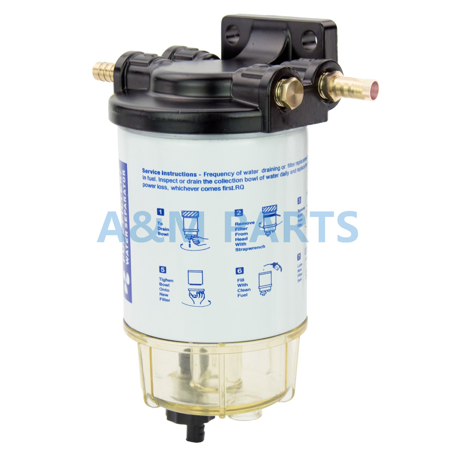 mercury outboard fuel water filter