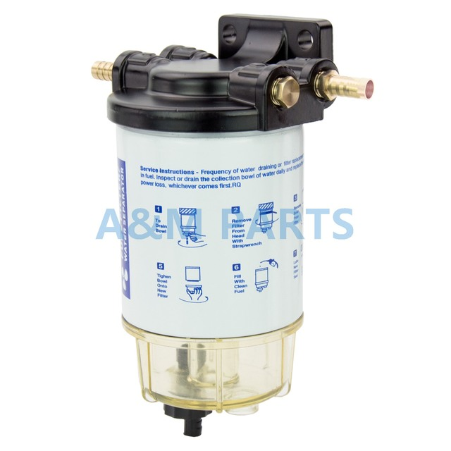 boat fuel filter marine engine fuel water separator for