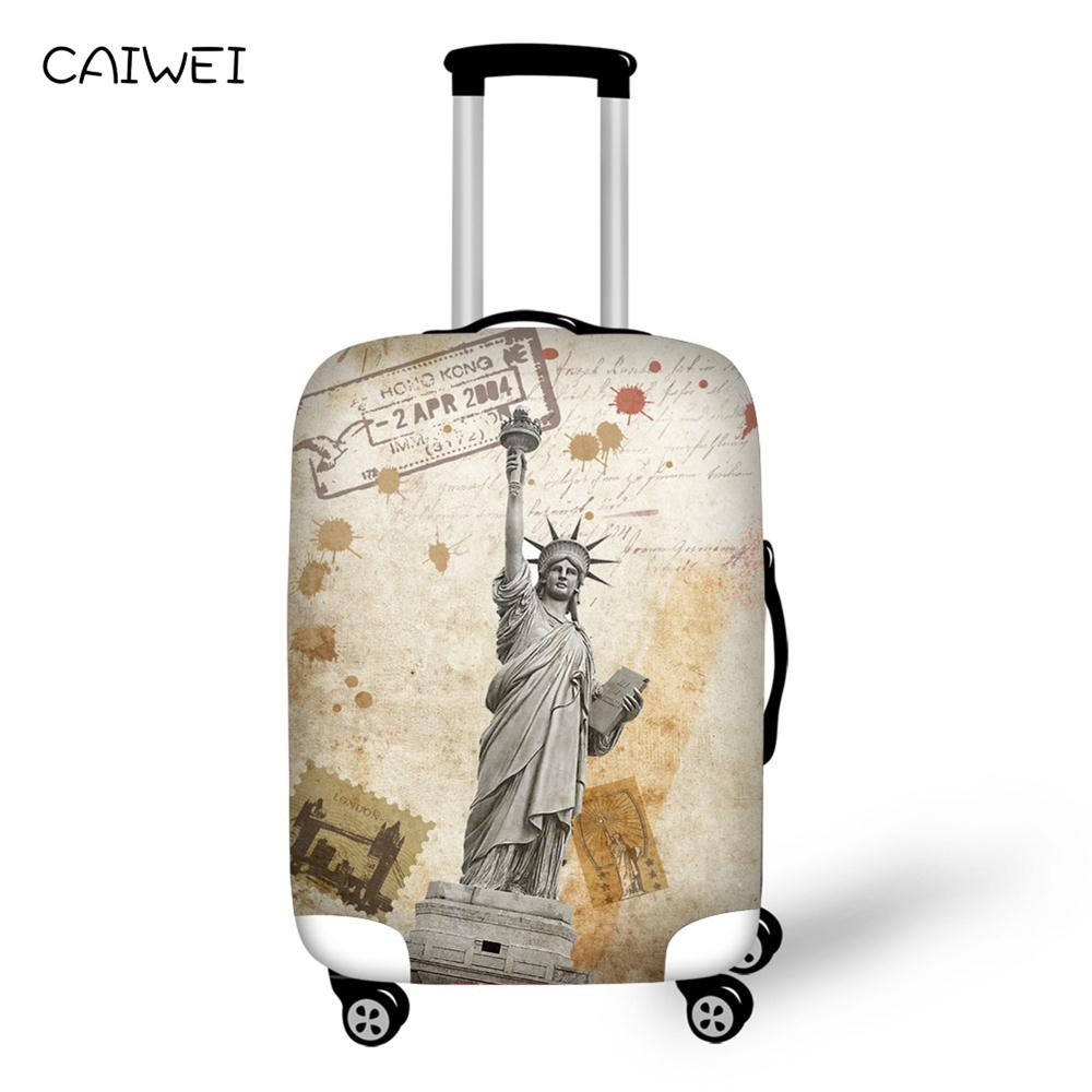 Suitcase-Protective-Cover Trunk-Case Travel-Luggage Elastic Waterproof for Apply To 18''-30''