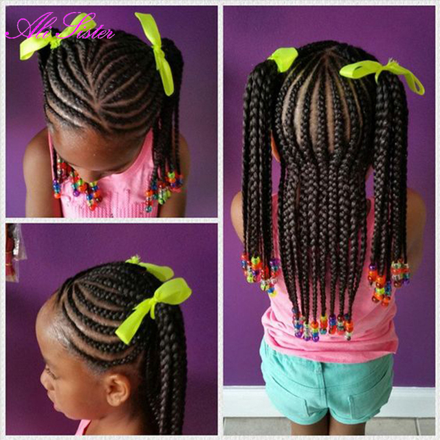 Kinder Box Zöpfe Häkeln Haarverlängerungen Xpression Flechten Haar