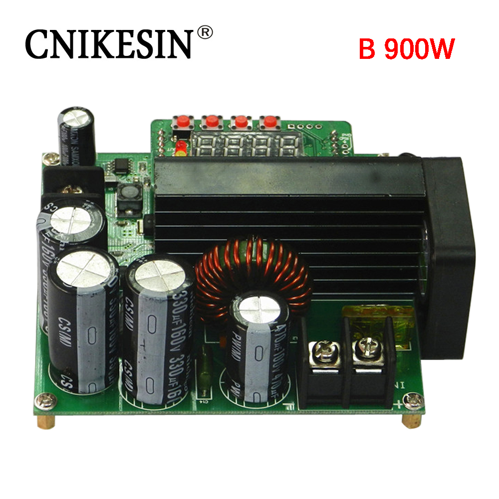 CNIKESIN B900W DC stabilized voltage constant current power supply adjustable voltage boost module voltage and current meter