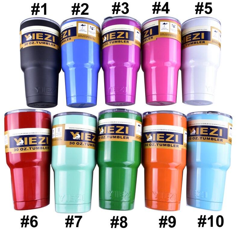 NEW <font><b>Bilayer</b></font> 304 <font><b>Stainless</b></font> <font><b>Steel</b></font> <font><b>Insulation</b></font> multicolor <font><b>Cup</b></font> <font><b>30</b></font> <font><b>OZ</b></font> Cars Beer YIEZI Mug Large Capacity Mug Tumblerful
