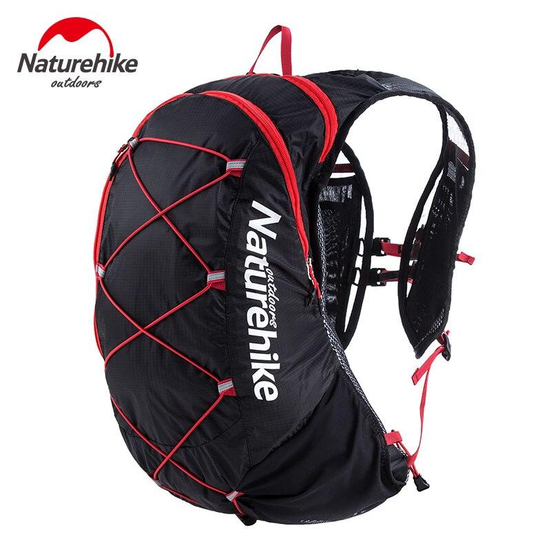 Naturehike Unisex Lightweight Backpack Outdoor Camping Bag Waterproof Cycling Bag Running Shoulders Bag Nylon Packsack