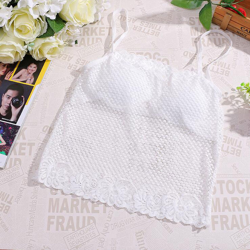 Fashion Lace Seamless Underwear for Kids Bras Tops Sling Wrapped Chest Teenage Girl Underwear for Girls Teenage Camisoles Kid