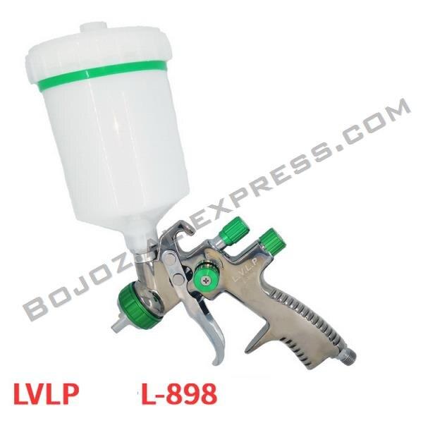 Air Pneumatic Professional LVLP spray gun LVLP Gravity feed pistol 1 3mm nozzle W T 600cc