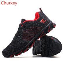 Men Sports Shoes Casual Outdoor Running Mesh Light Breathable Head Laced Sneakers