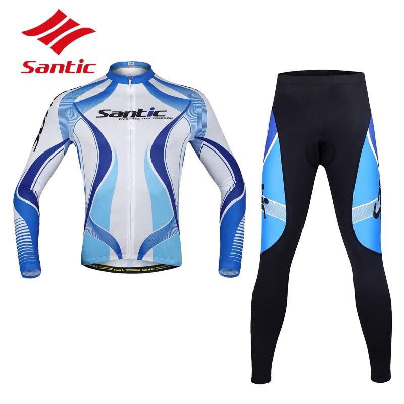 Santic Mens Cycling Jerseys S-3XL Pro MTB Mountian Road Cycling Clothing Bike Jacket Sportswear Roupas Ciclismo Bicicleta