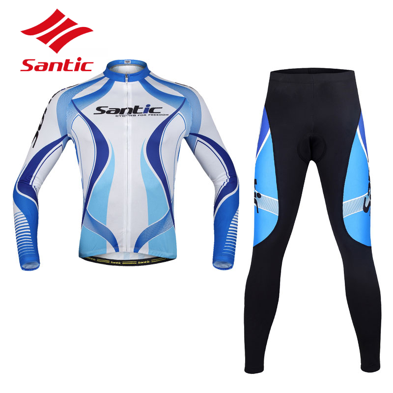 Santic Men's Cycling Jerseys S-3XL Pro Mountian Road Cycling Clothing Bike Jacket Sportswear Roupas Ciclismo Bicicleta
