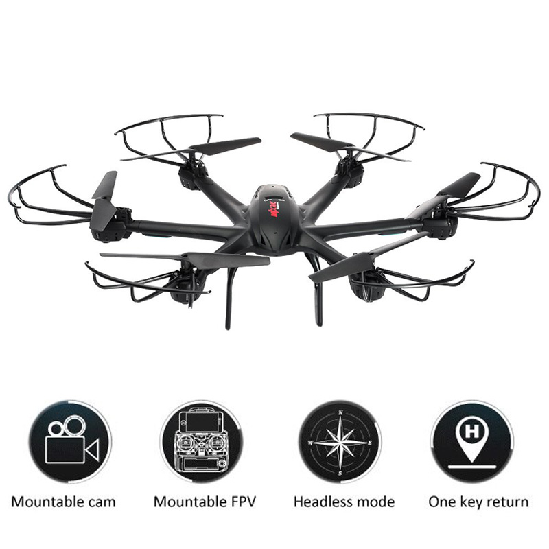 MJX X600 RC Drone Dron Headless Mode 2.4GHz 6 Axis Gyro Hexacopter with 3D Roll Stumbling Function Helicopter Drones Xmas Gifts wltoys q222 quadrocopter 2 4g 4ch 6 axis 3d headless mode aircraft drone radio control helicopter rc dron vs x5sw