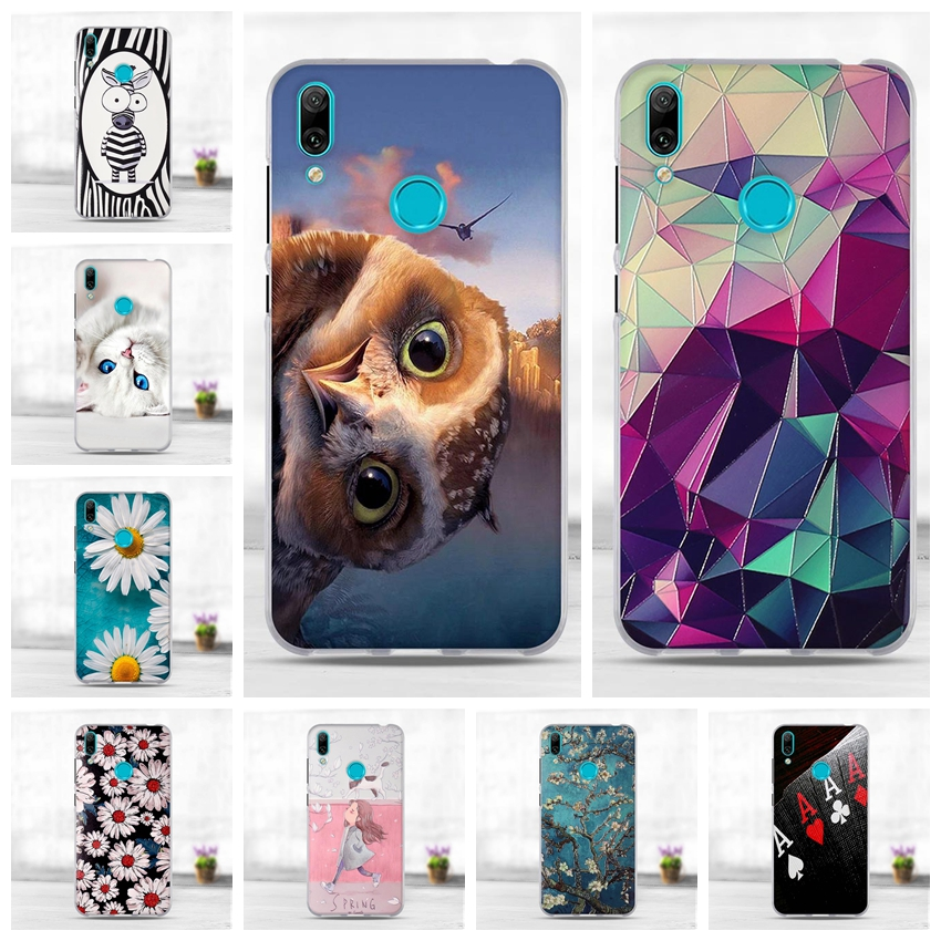 For <font><b>Huawei</b></font> Y7 <font><b>2019</b></font> Case Silicone TPU Cover For <font><b>Huawei</b></font> Y7 Prime <font><b>2019</b></font> Cover Back Mobile Phone Case for <font><b>Huawei</b></font> Y7 <font><b>Y</b></font> <font><b>7</b></font> <font><b>2019</b></font> Capa Bag image