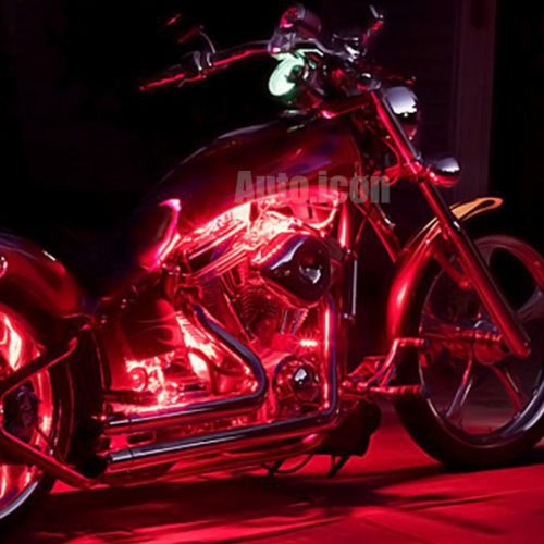 2pcs 3 smd red led strip lights lamp for motorcycle under glow 2pcs 3 smd red led strip lights lamp for motorcycle under glow accent lighting in brake lights from automobiles motorcycles on aliexpress alibaba aloadofball Image collections