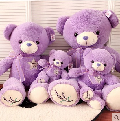 new Lavender Filling Genuine Hug Bear Plush Toys 35cm-80cm  Kawaii Children Bear Teddy Bear Gift Valentine Day Gift Lowest Price недорого