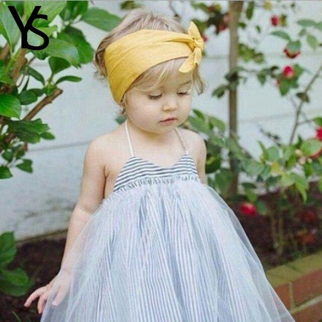 857498b3a 12m 5T Little Baby Girls Dress Summer Sphaggeti Straps Striped ...