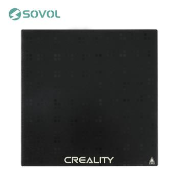 CREALITY 3D Printer Platform Silicon Carbon Heated Bed Build Surface Tempered Glass Plate 235*235*3mm For Ender-3 3Pro Ender-5