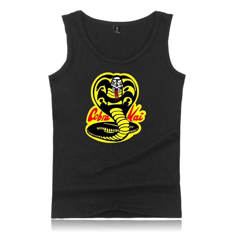 Cobra Kai T-Shirts XXS To 4XL T Shirts Cool And Fashion Tank Tops Men Printed T-Shirts Summer Style