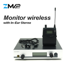 ZMVP 300 IEM G3 профессиональный стерео монитор Беспроводная система с передатчиком для студийной сцены