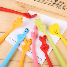 10 pcs/lot NNRTS creative stationery Hands shape bending pen Ballpoint Cute cartoon finger
