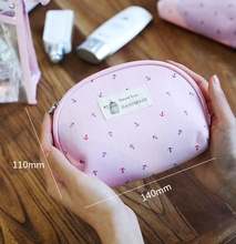 3 pcs Set Casual Women Travel Cosmetic Bag PVC Leather Zipper
