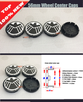20pcs/lot 60mm 56mm Car Wheel hub caps Auto emblem badge center Covers Car Wheel stickers For eagle logo label car styling