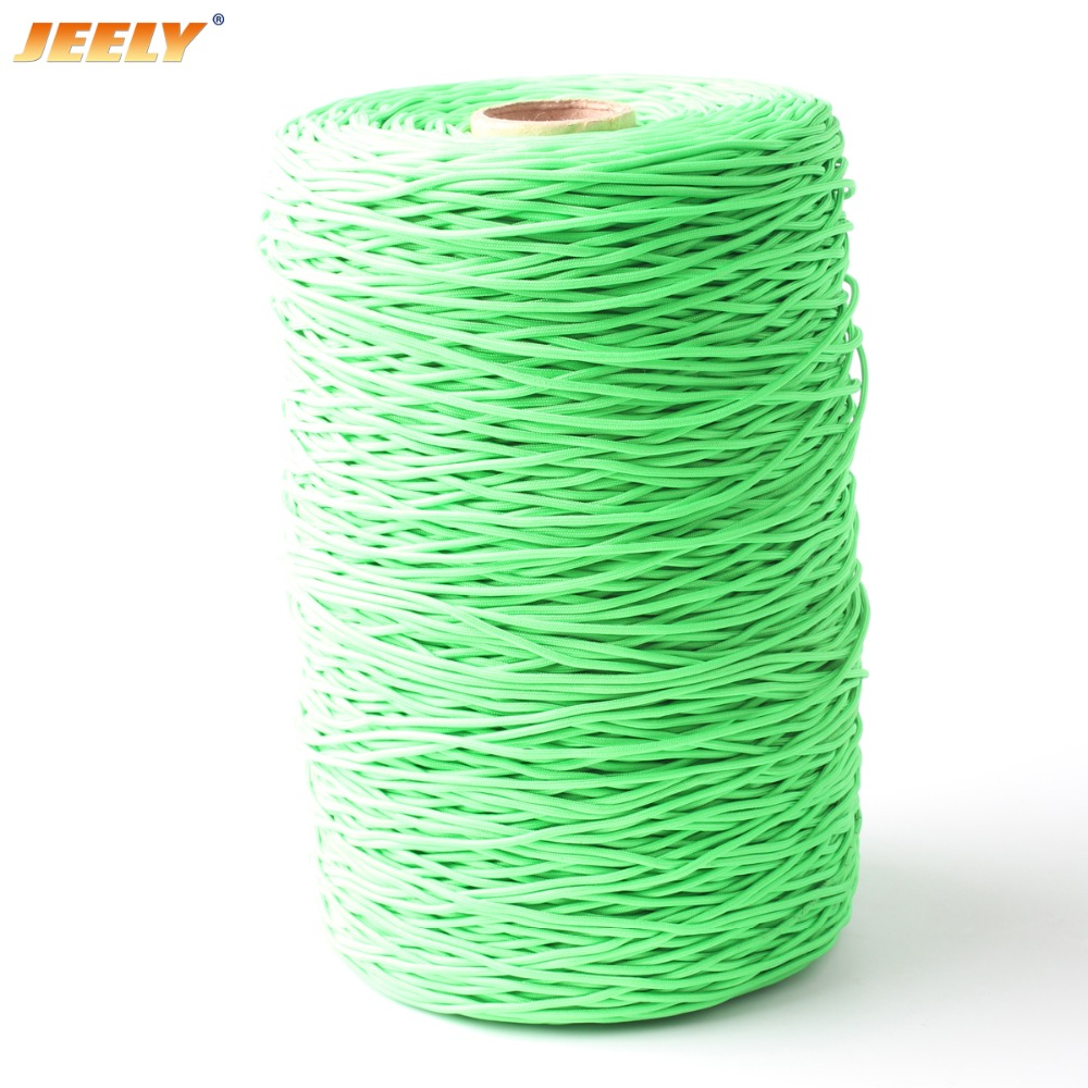 Free Shipping 500M 110LB UHMWPE Towing Winch Rope 16 Strands Round Stiff Version 1MM Cord