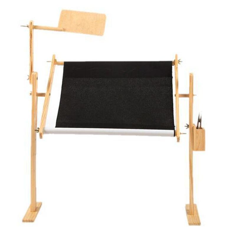 Solid Wood Cross Stitch Rack Adjustable Stand Desktop Cross Stitch Frame