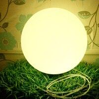 Светодиодный glow Света купола открытый водонепроницаемый перезаряжаемый светящийся шар садовый светильник творческий посадка сферические
