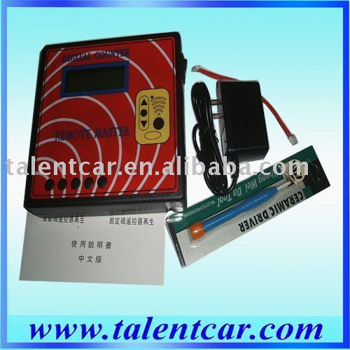 Remote Master/Key Copied Frequency tester Regenerate RF Remote Controller/copier Key Programmer Free Shipping