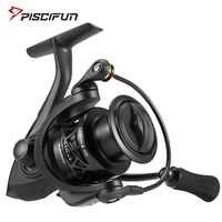 Matériel de pêche Piscifun Carbon X moulinet de pêche 5.2: 1/6. 2:1 rapport de vitesse léger à 162g 11BB 15KG Max bobine de pêche en eau salée